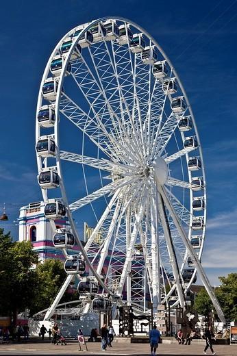 Ferris wheel, Copenhagen, Denmark, Europe : Stock Photo