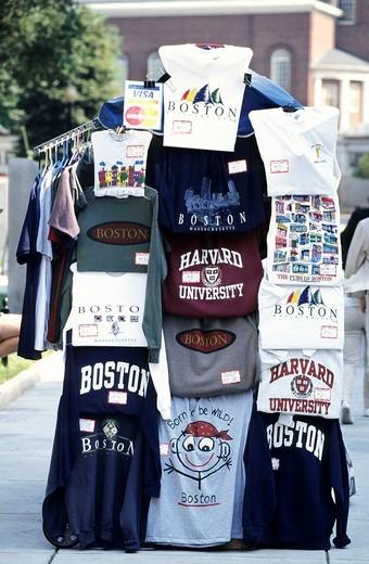 Souvenirs, Boston, Massachusetts, USA, United States of America : Stock Photo