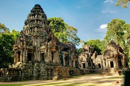 Thommanon, Angkor Wat complex, Siem Reap, Cambodia, Southeast Asia, Asia : Stock Photo