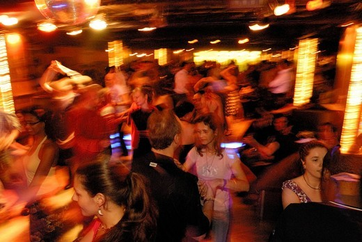 Salsa dancing in the Havanna Berlin salsa club, event location and discotheque in the Schoeneberg district, Berlin, Germany, Europe : Stock Photo