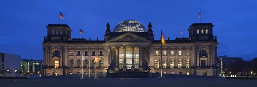 Reichstag, Charlottenburg, Berlin, Germany, Europe : Stock Photo