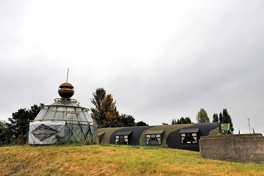 Stock Photo: 1848-404647 The Squadron wartime huts at North Weald Airfield, Essex, England, United Kingdom, Europe