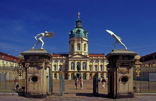 Charlottenburg Castle in Berlin, Germany, Europe : Stock Photo