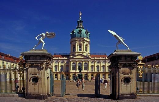 Stock Photo: 1848-405049 Charlottenburg Castle in Berlin, Germany, Europe