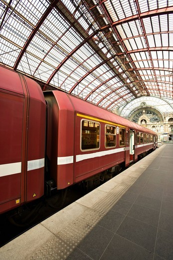 Antwerpen_Centraal central station, Antwerp, Flanders, Belgium, Europe : Stock Photo