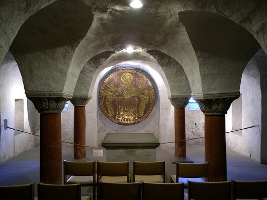 Stock Photo: 1848-406912 Crypt, Cathedral of Constance, Konstanz, Lake Constance, Baden_Wuerttemberg, Germany, Europe