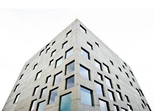 SANAA building, Zeche Zollverein coal mine, Essen, North Rhine_Westphalia, Germany, Europe : Stock Photo