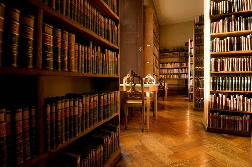 Stock Photo: 1848-415358 Library of the Allgemeinen Lesegesellschaft Basel General Reading Society of Basel, Basel, Switzerland, Europe