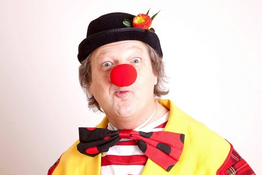 Stock Photo: 1848-417327 Clown