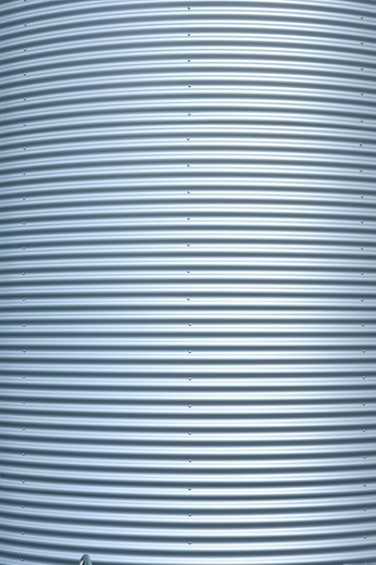 Stock Photo: 1848-41846 Corrugated iron as a cladding