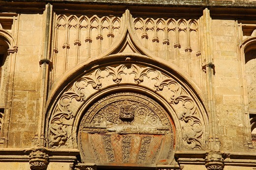 Detail of the western facade of the the Great Mosque, Cordoba, Andalusia, Spain, Europe : Stock Photo