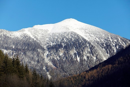 Tamischbachturm mountain, Gesaeuse National Park, Styria, Austria, Europe : Stock Photo