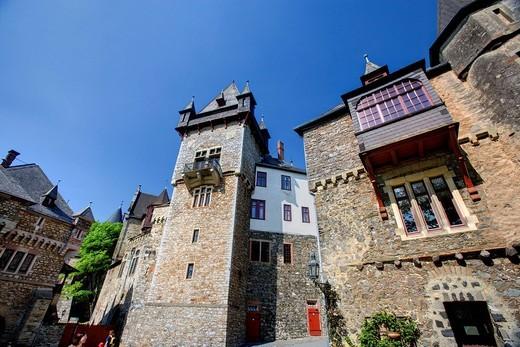 Braunfels Castle, Braunfels, Hesse, Germany, Europe : Stock Photo