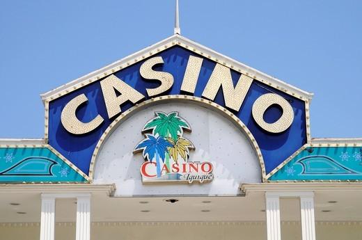 Gambling casino, Iquique, Norte Grande, northern Chile, Chile, South America : Stock Photo