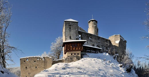 Araburg Castle, Lower Austria, Austria, Europe : Stock Photo