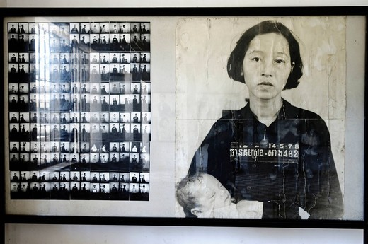 Tuol Sleng Genocide Museum, Phnom Penh, Cambodia, Southeast Asia, Asia : Stock Photo