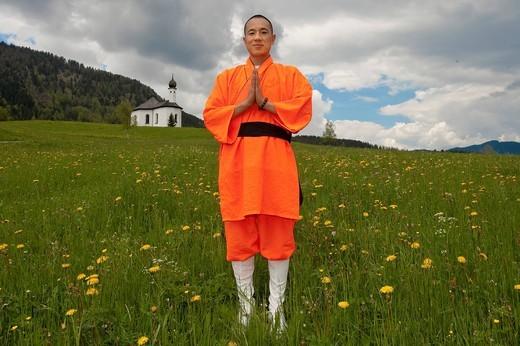 Stock Photo: 1848-424003 Shaolin Monk