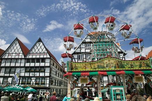 Town festival in Soest, North Rhine_Westphalia, Germany, Europe : Stock Photo