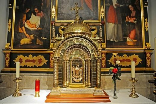 Stock Photo: 1848-428187 Altar, church of San Jaime, Benidorm, Costa Blanca, Provinz Alicante, Spanien, Europa