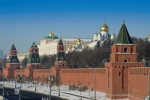 Kremlin, Moscow, Russia : Stock Photo