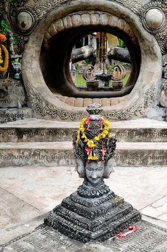 Stock Photo: 1848-430852 Sala Keoku, Sala Kaew Ku Sculpture Park, Nong Khai, Thailand, Asia