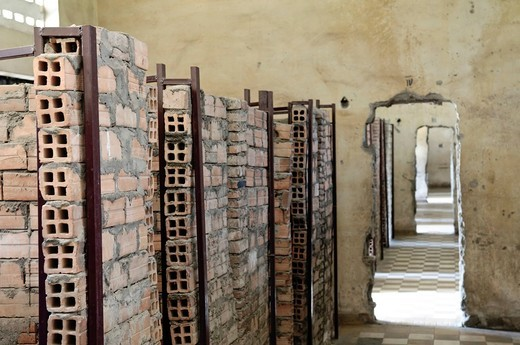 Stock Photo: 1848-430854 Tuol Sleng Genocide Museum, Phnom Penh, Cambodia, Southeast Asia, Asia