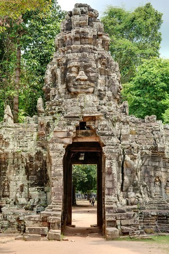Banteay Kdei, Angkor Wat complex, Siem Reap, Cambodia, Southeast Asia, Asia : Stock Photo