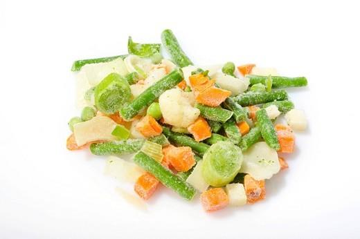 Frozen vegetables : Stock Photo