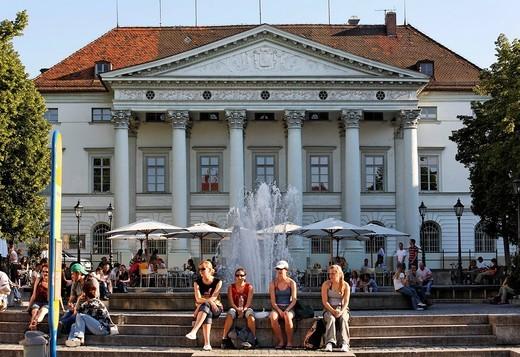 Präsidialpalais , Regensburg , Upper Palatinate Bavaria Germany : Stock Photo