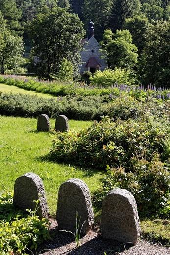 Stock Photo: 1848-440054 Concentration camp memorial place Flossenbürg , Upper Palatinate , Bavaria Germany