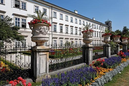Mirabellgarten, Mirabell Gardens, Salzburg , Austria : Stock Photo