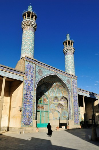 Historic Friday or Congregational Mosque in Hamadan, Hamedan, Iran, Persia, Asia : Stock Photo
