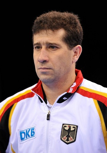 Stock Photo: 1848-441540 Valeri Belenki, German coach and manager, EnBW Gymnastics World Cup 2009, Porsche_Arena Stuttgart, Baden_Wuerttemberg, Germany, Europe