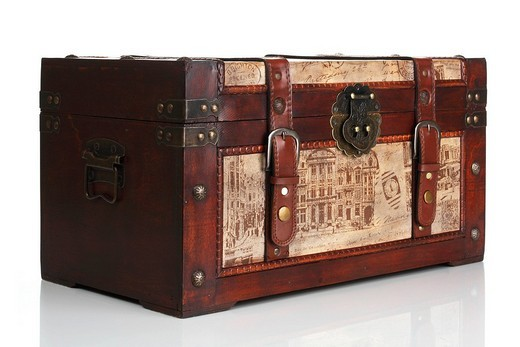 Old trunk : Stock Photo