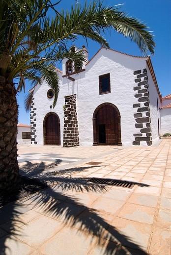 Stock Photo: 1848-442015 Church in Punta de Santa Domingo, La Palma, Canary Islands, Spain, Europe