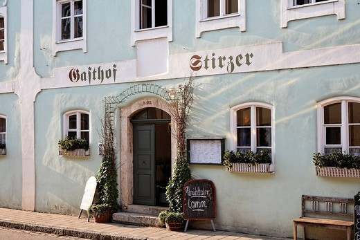 Restaurant Stirzer in Dietfurt , Upper Palatinate Bavaria Germany : Stock Photo