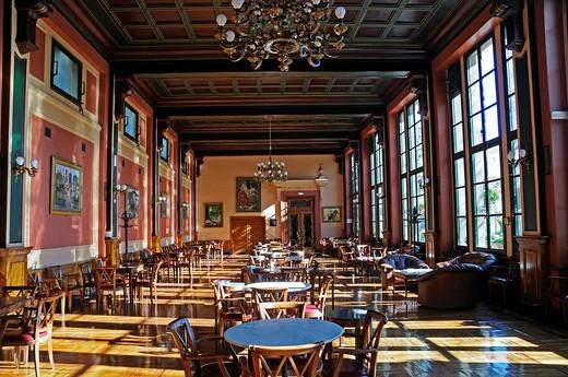 Industrial Club, Museum, Art nouveau, Alcoy/Alcoi, Alicante, Spain : Stock Photo