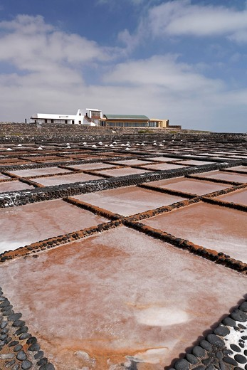Stock Photo: 1848-443895 Saline , museum of salt , Las Salinas , Fuerteventura , Canary Islands