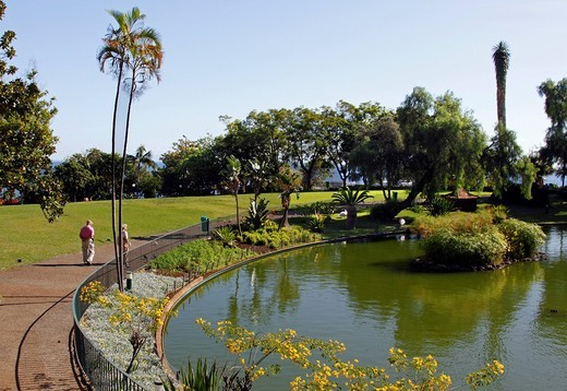 Park Santa Catarina, Funchal, Madeira, Portugal, Europe : Stock Photo