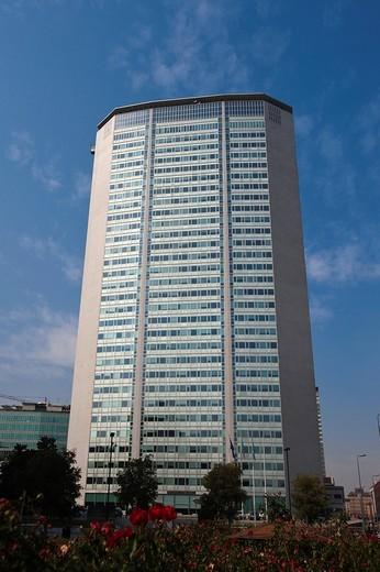 Torre Pirelli tower, Milan, Lombardy, Italy, Europe : Stock Photo