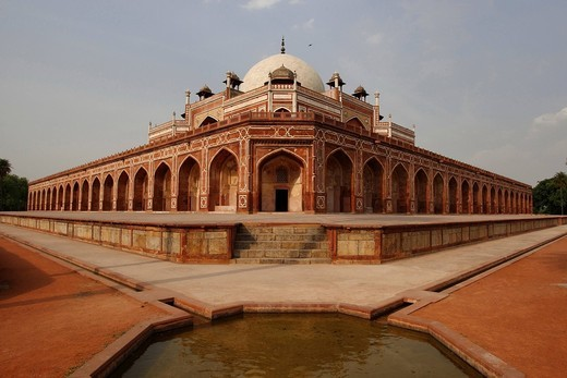 Humayun´s Tomb, Delhi, India, Asia : Stock Photo