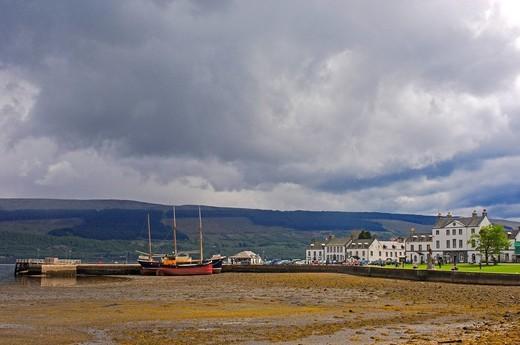 Stock Photo: 1848-453873 Loch Fyne, Inveraray, Argyll and Bute, Scotland, United Kingdom, Europe
