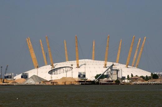 Stock Photo: 1848-454389 The Dome, Millennium Dome, The O2, London, England, United Kingdom, Europe