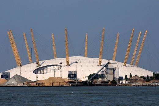 The Dome, Millennium Dome, The O2, London, England, United Kingdom, Europe : Stock Photo