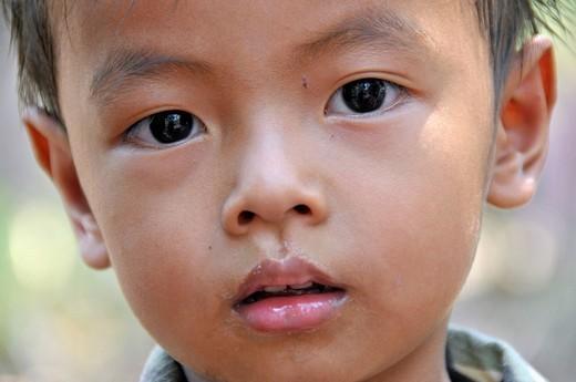 Boy, Cambodia, Asia : Stock Photo
