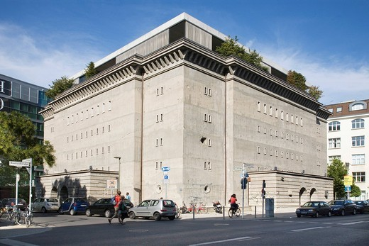 Stock Photo: 1848-456104 Bunker, Albrechtstrasse. Reinhardtstrasse, Boros Art Collection, Berlin, Germany, Europe