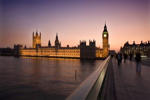 Houses of Parliament, London, England, United Kingdom, Europe : Stock Photo
