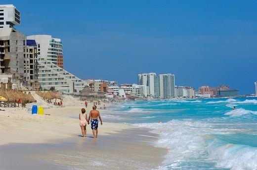 Stock Photo: 1848-456597 Cancun Beach, Caribe, Quintana Roo state, Mayan Riviera, Yucatan Peninsula, Mexico