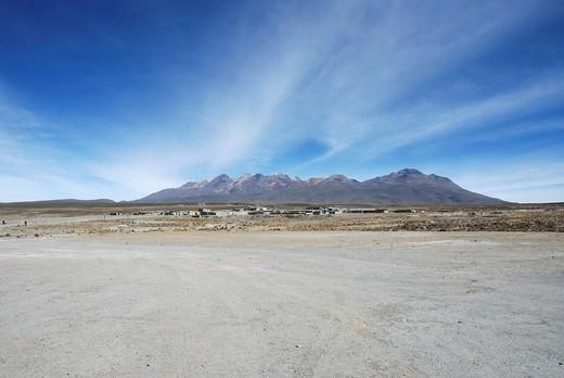 Polopuluni, Salinas y Aquada Blancas National Park, Peru, South America, Latin America : Stock Photo