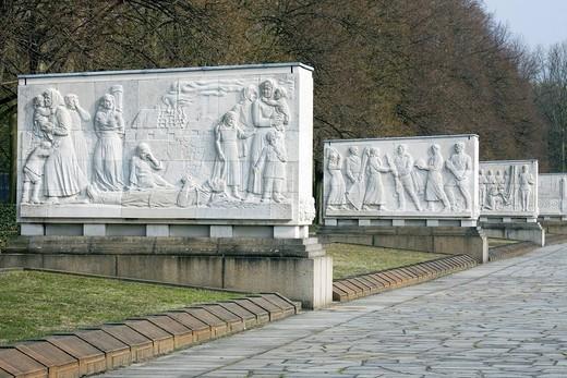 Soviet Memorial, Treptower Park, Berlin, Germany, Europe : Stock Photo